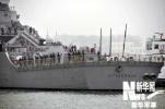 """美军""""撞船""""宙斯盾舰被运回美国 维修费用上亿"""