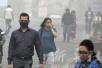 斯里兰卡板球选手不敌印度雾霾 戴口罩上场还呕吐