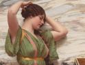 古典主义油画的优雅和颓废
