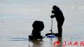 沈阳农经委渔业总站巡查7天 执法收缴非法捕鱼工具