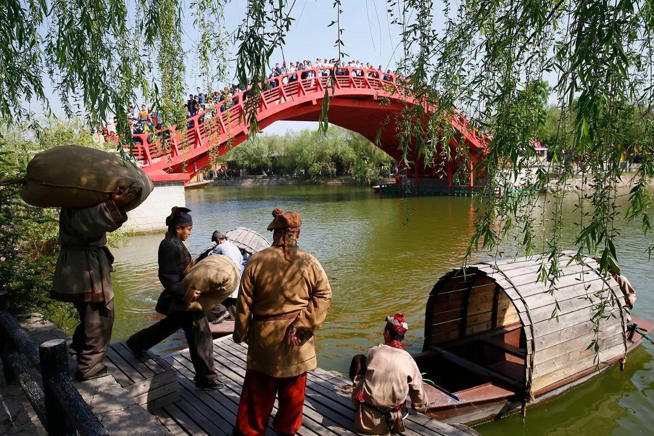 走进清明上河园了解汴河的前生今世