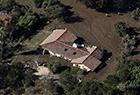 加州泥石流灾害现场