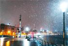 上海下雪了