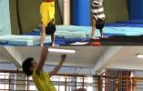 他们的奥运梦!跳水小将每天重复动作500遍,只为1秒钟