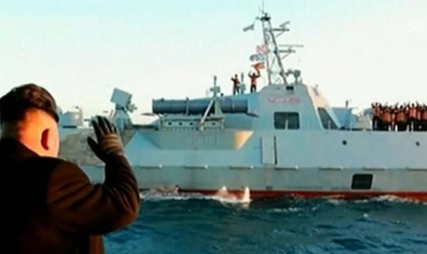 皇家彩票网是否正规:日本社交媒体爆出朝鲜最新型隐身导弹艇照片