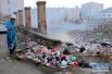 疫情肆虐!也门萨那防控霍乱