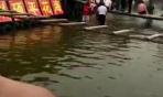 """网传河南汝州景区网红桥一游客""""溺水""""景区回应:无碍"""