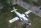 最牛校园停5架飞机