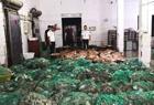 查获5吨违禁渔获物