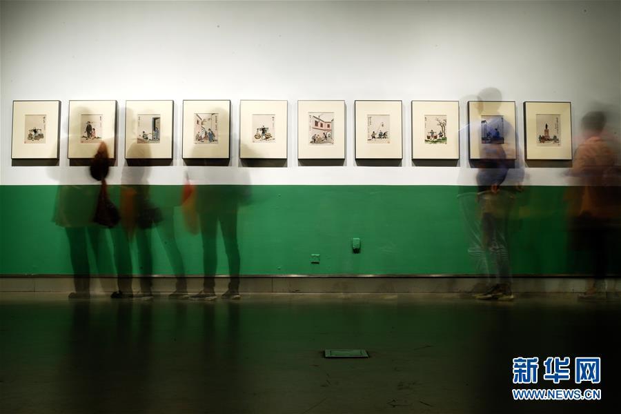 """""""此境风月好——丰子恺诞辰120周年回顾展""""在杭州开幕"""