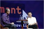 马云在世行年会发言:支付宝的初心就是利用互联网帮助小企业发展