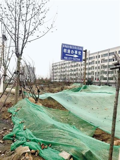 """新郑机场高速沿线黄土裸露垃圾遍地环境脏乱差 影响市容"""""""