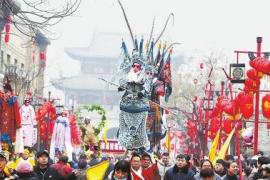 """千万网友看直播""""云逛""""浚县庙会 全网""""云狂欢""""9小时"""