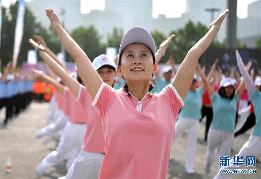 (体育)(1)全民健身——全民健身 你我同行
