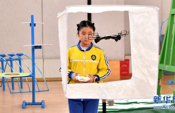 河南:科技体育竞赛走进郑州校园