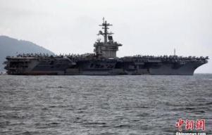 """舰长写信求援 美""""罗斯福""""号航母2700名士兵被允许下船隔离"""