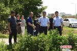 济源示范区管委会委员、副市长俞益民带队开展巡河督导
