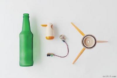 瓶子制作手工图片大全小动物