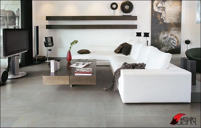 3款深色系客厅瓷砖