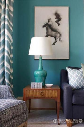 动物元素装饰画混搭欧式家具是不断被国际软装陈列