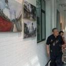 老北京胡同油画展在京开幕