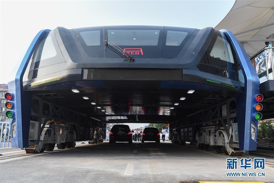 全球首辆空中巴士进行路面测试