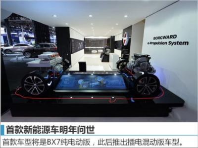 宝沃产能将提升 为新能源等多款新车铺路-图5