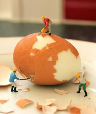 你的厨房已被小人国占领!