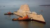 """美国第二艘""""超级战舰""""海试 将专注反舰?"""