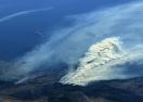 高角度观测南加州野火