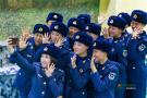 空军女兵下连前一天