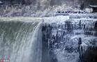 尼加拉大瀑布成冰瀑