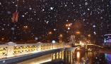夜雪落津城