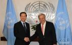 中囯代表说将推动联合国为维护世界和平发挥更大作用