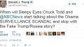 特朗普发推要求调查奥巴马 顺带怼了NBC新闻主持人