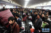 中国铁路春运单日旅客发送量创历史新高