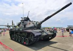 台湾将升级老旧M-60坦克 美媒称性能将超M-1