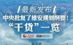 """图解:中央批复了雄安规划纲要!""""干货""""一览"""