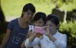 """朝鲜女性扮靓新招:""""春香1.0""""APP了解一下?"""