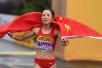 梁瑞打破女子50公里竞走世界纪录