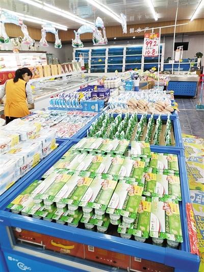 市食药监局回应 漯河一超市酸奶放常温货柜