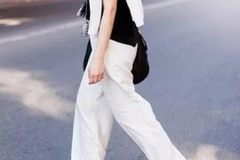 白裤子显胖?看看白裤子搭配攻略
