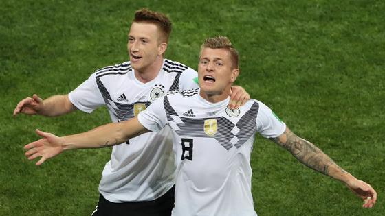 克罗斯绝杀 德国队2-1力克瑞典保存出线希望