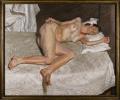 肖像画巨匠弗洛伊德精美裸女作品领衔伦敦当代艺术晚拍