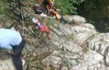 一驴友被困悬崖,瑞安100多人18小时生死营救
