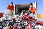 """英媒:中国拒收""""洋垃圾"""" 英国出口商损失达5亿英镑"""
