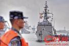 """中国-东盟""""海上联演""""即将举行 多国参演舰艇陆续抵达湛江"""