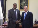 蘇丹共和國總統助理阿布德·拉赫曼會見天獅集團董事長李金元