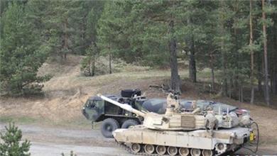 德国 美军坦克现身 将参加北约军演