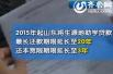 山东高校贫困生助学贷款 最长还款期延至20年